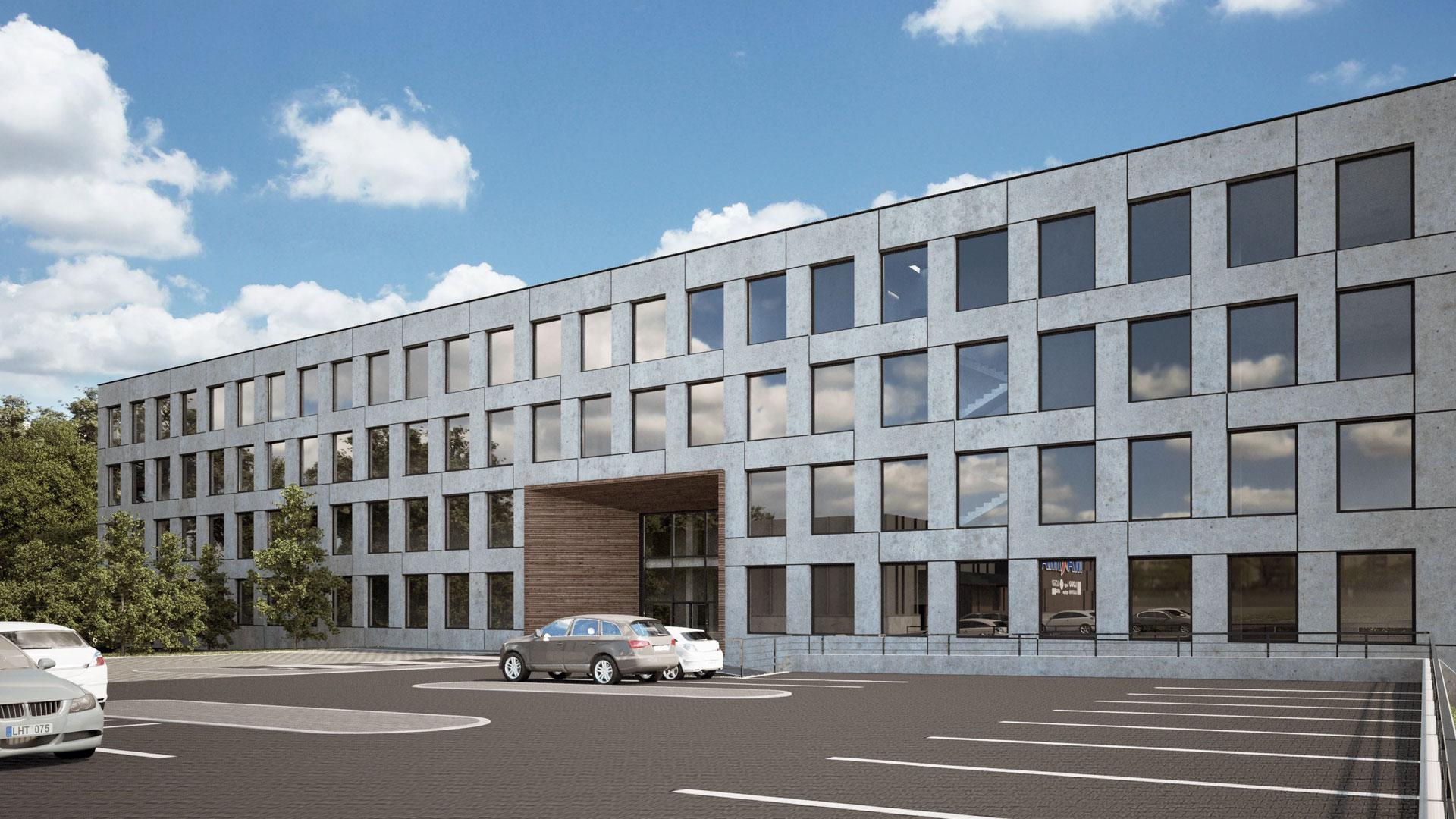 Gydymo paskirties pastatas  3,500 m²  Vilniuje