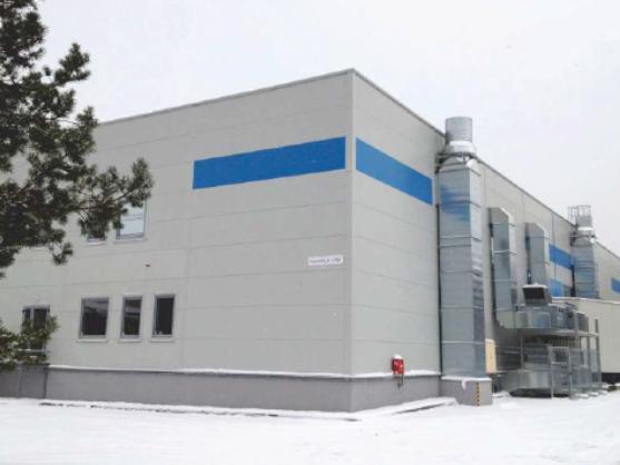 Gamybinis-sandėliavimo pastatas